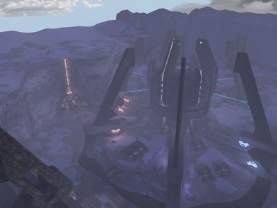 Halo custom edition modified multiplayer maps ib portent v2 for Portent halo ce