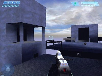 Description: A Halo CE version of the Halo 2 level Lockout.