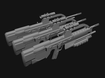 Halo Custom Edition 3D Model Files: Various 3d models (MAX/3