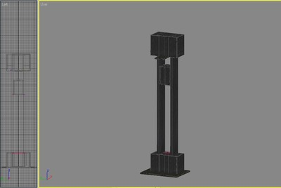 Halo Custom Edition 3D Model Files: Elevator Model (MAX)