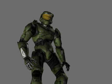 Halo Custom Edition 3D Model Files: Halo 2 Master Chief Rigg