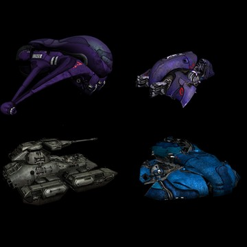 Halo Custom Edition 3D Model Files: Halo 3 Vehicles 3d Max M