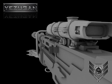 Halo Custom Edition 3D Model Files: [hr] Sniper Rifle [3d Mo