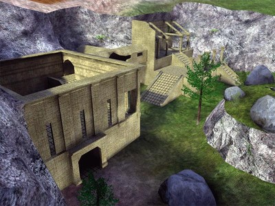 Halo Custom Edition Halo CE Maps: Delta Ruins