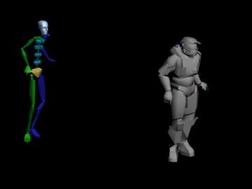 Halo Custom Edition 3D Model Files: Easy Masterchief Motion
